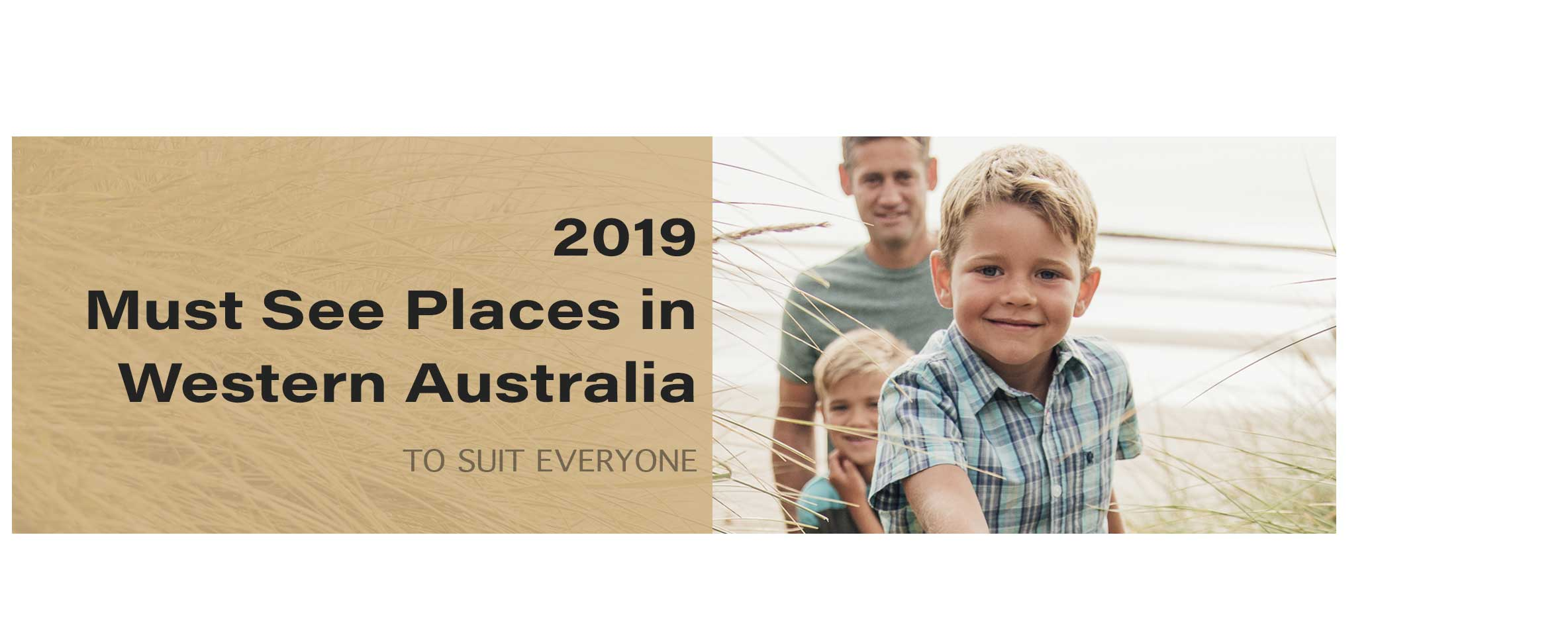 2019 Must See Places in Western Australia
