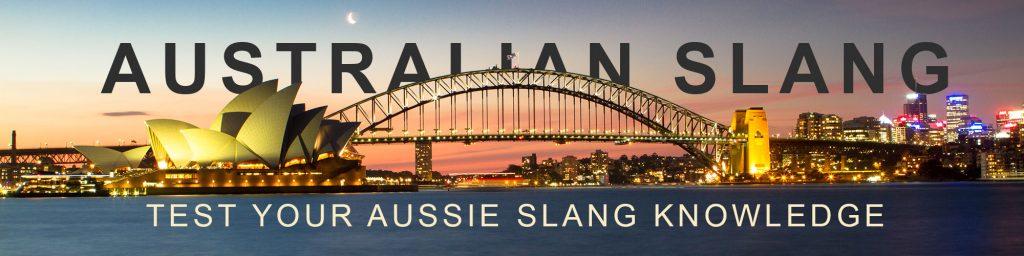 Australian Place Slang
