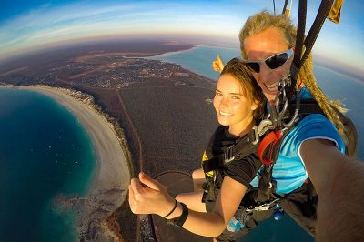 Geronimo Broome 10,000ft Cable Beach Broome Tandem Skydive