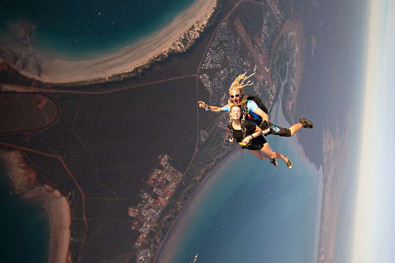 Geronimo Broome 14,000ft Cable Beach Broome Tandem Skydive