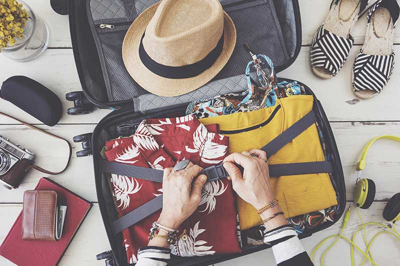 Top ten things to pack for holiday
