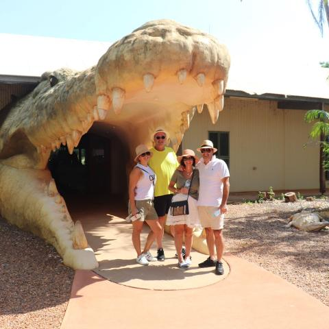 Broome and Around Broome Crocodile & Wildlife Park Feeding and Rogue Croc Alley Tour